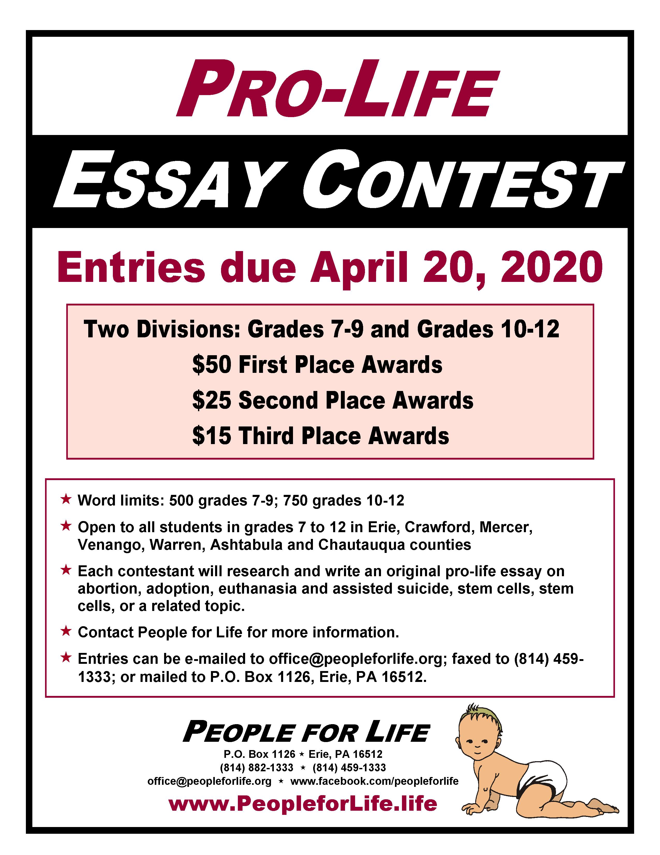 These 11 Essay Contests with Generous Prizes Will Change Your Life