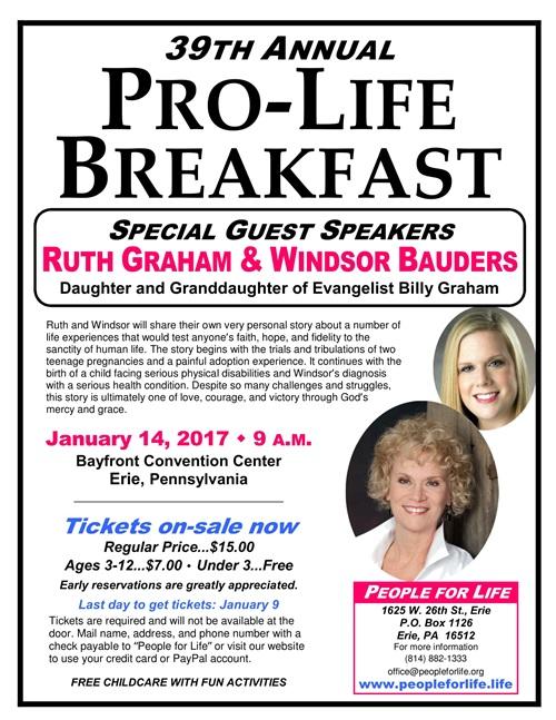 Annual Pro-Life Breakfast