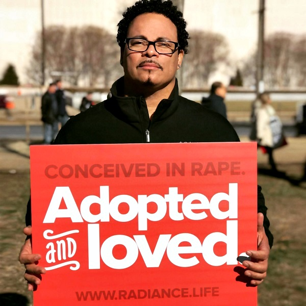 Ryan Bomberger, Conceived in Rape. Adopted and Loved.